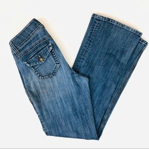 CAbi Boot Cut Jeans Style# 638R sz 4